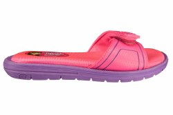 SKECHERS Twinkle Toes Sole Searchers-Crossover neon pink/purple Little Kid's Slide Sandals 011