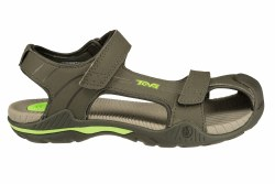 TEVA Toachi 2 stone grey Big Kid's Closed Toe Water Sandals 6