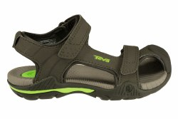 TEVA Toachi 2 stone grey Little Kid's Water/Sport Sandals 1