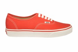 VANS Authentic red Unisex Skate Shoes