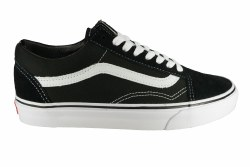 VANS Old Skool black/white Unisex Skate Shoes 05.0