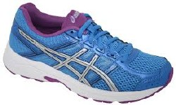 Asics Gel Contend 4 Diva Blue /Silver/Orchid Womens Running Shoes T765N-439307.5