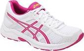 Asics Contend 4 White/Pink Peacock/Silver Womens Running Shoes T765N-011707.5