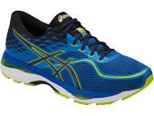 Asics Gel Cumulus 19 Blue directoire Blue/Peacoat/Energy Green Mens Runnung Shoes T7B3N-435807.5