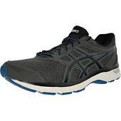 Asics Gel Exite 4 Carbon/Black/Blue Mens Running Shoes T6E3Q-9790 10.0
