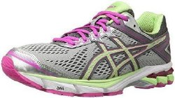 Asics GT 1000 4 Silver Pistascio pink Womens running shoes T5A8N-938706.5