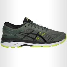 Asics Gel Kayano 24 Dark Forest/Black/Yellow Mens running Shoes T749N-8290 15.0