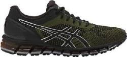 ASICS-Quantum 360 KNIT Black mens running shoes T729N-9086 13.0
