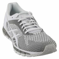 Asics Gel Quantum 360 Knit Womens Running Shoe White Snow Silver 08.0