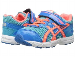 Asics GT 1000 # Turquoise/Hot Coral/Blue Toddlers Shoes C460N-402305.0