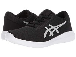 ASICS Metrolyte 2 - Women's Walking Shoes : Black/Silver/White : Lock in comfort with the ASICS Metrolyte 2! Breathable mesh upper in an intricate design. Extra soft, suede08.0