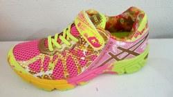 Asics Noosa Trainer Infant Shoes Petal Pink/ Hot Pink/Apple Green C436N343507.0