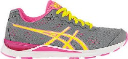 Asics Storm 2 Storm/Flash Yellow/Pink Womens Running Shoes T479N-750408.0