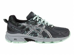 Asics Womens Gel Venture 6 wide Trail Running Shoes 07.5