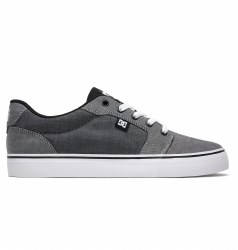 DC Anvil TX SE Mesh lining Ventilation Holes for Breathability Vulcanized construction for great board feel and sole flex abraision resistent sticky rubber outsole Dc,s Trademarked Pill Pattern Tread08.0