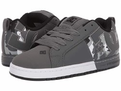 DC Court Graffik SQ  Camoflage  Grey Classic DC style and comfort08.0