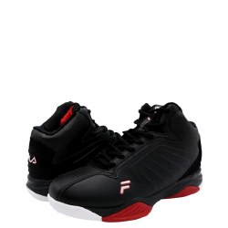 Fila Basketball Shoes Entrapment 6 Black Red Mens Sizes 07.0