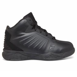Fila Little kids Basketball Black Black Durable and stylish 011.