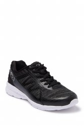 Fila womens running shoes Black white lightweight durable breathable mesh upper memory foam insole to keep your feet cool and comfortable. 06.5