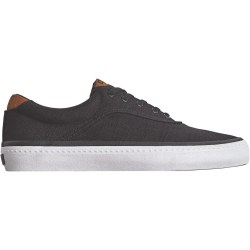 The Sprout is a versatile vulcanized skate shoe with double wrap foxing tape, featuring Globe's Shockbed™ insole and Globe's Super-V outsole. The Sprout Black Hemp has a vulcanized construction, hemp upper and rubber outsole. 08.5