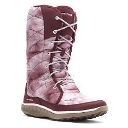 MERRELL Pechora Peak burgundy Womens Boots 07.0