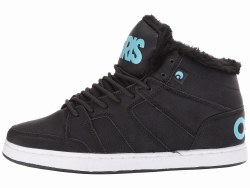 Osiris womens Clone Mid Top Shearling lined  Skate Shoes 05.0