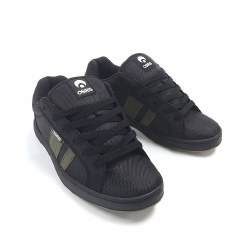 Osiris Loot Black Olive . Rock the Classic skate style that goes for miles with the Osiris Loot Skateboard shoe08.0