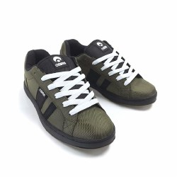 Osioris Loot Olive Dark Gum Skate Shoes iconic Osiris Style low Top And Durable08.0