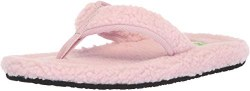 Sanuk Furreal classic chill pink flip flop , brand names , low prices , quility shoes , flip flops07.0