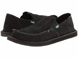 Sanuk Vagabond Blackout. Name Brands , Low Prices , Quility Shoes , Classic Slip On Styles10.0
