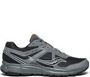 Saucony Grid Cohesion Trail 11 Charcoal Black Wide Trail running Shoes Saucony S20428-408.0