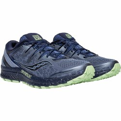 Saucony Guide Iso 2 Trail.  Why Limit Yourself to just roads , Seamlessly transistion all the elements07.0