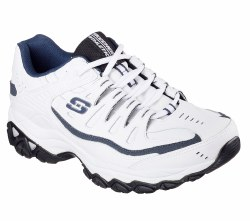 Skechers Afterburn M fit White Navy Size !515.0