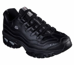 Skechers Brunkz Black , Leao into a sleek athletic look with well cushioned comfort10.0