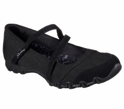 Skechers Get Up Black Womens Casual Maryjane Style 49405/BLK. 06.5