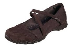 Skechers Get Up 49405W/Chocolate Mary Jane Style 06.5