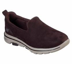 Skechers Go Walk 5 Gift Chocolate Womens walking slip on shoes 1591306.5