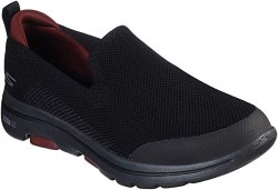 Skechers Go Walk 5 Prized Black Slip On Mens Comfort walker08.5