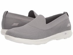 Skechers Charming Grey , Skechers on the go , go walk , air cooled goga mat insole08.5