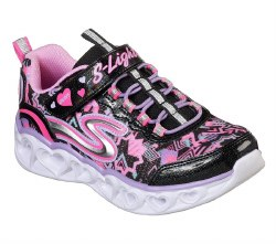 Skechers heart lights . running style youth sizes , light up shoes , athletic , sporty, durable, stylish and comfortable.012.