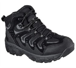 Skechers Morson Gelson Black Boot Mens Waterproof 65124/BLK. 07.0
