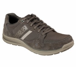 Skechers Olen Khaki Mens Casual Dress Shoes 65203/KHK . 09.5