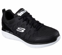 Skechers Peslier CharcoalBlack Mens Running Shoes 52655/CCBK. 11.0