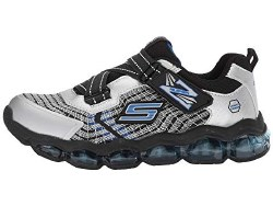 Skechers Radex Light up Shoes velcro closure Six lights chase and blink  on off switch to deactivate lights  slip on 011