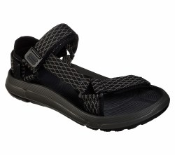Skechers Quinten Relando Sandal Adjustable river sandal Teva Like , Comfortable on the go sandal ready for a hike or a jump in the water  07.0