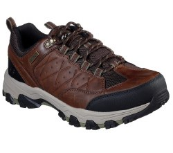 Skechers Selman Helson Waterproof Casual Comfort low top hiking shoes Durable and Stylish08.0