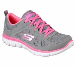 Skechers Simply Chic Girls Grey Multi 81623/GYMT 012.