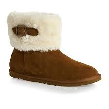 Versatile style and snuggly comfort combine in the SKECHERS Star Shooter - Skyward boot. Soft suede upper in a slip on casual ankle height cool weather boot with stitching accents and faux-fur cuff. . 07.5