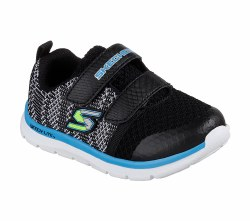 Skechers Speedy Steps Toddler Shoes 95048N/BKW05.0