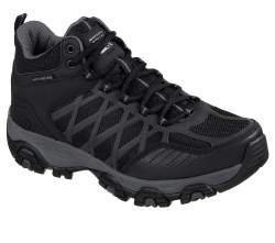 Skechers Terrabite Turbary Hiker Black Start your own path in this off road sportystyle Trail walking comfortable hiker from Skechers Skechers 51845/BKCC08.5